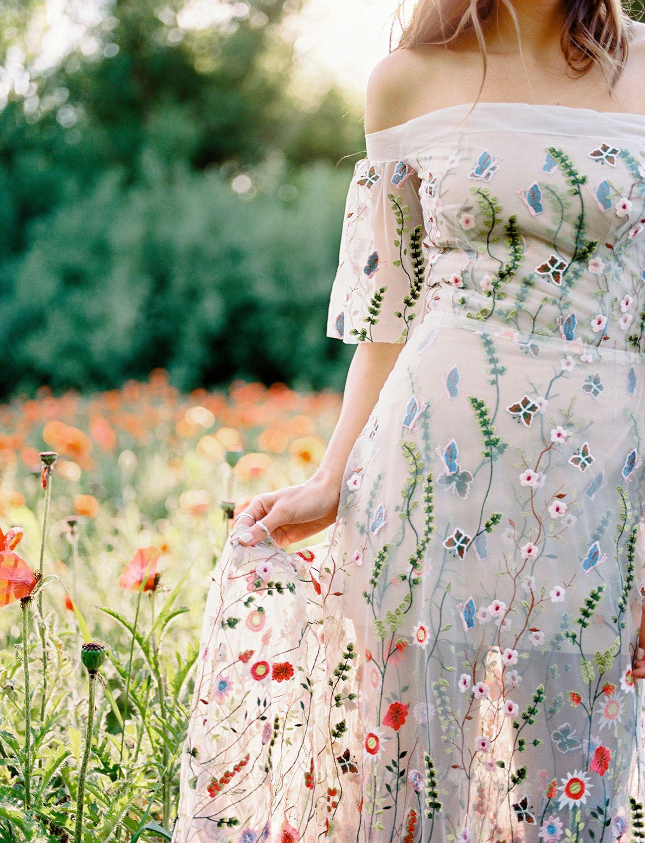 You Belong Among The Wildflowers Wedding Inspiration Green Wedding Shoes Embroidered Wedding Dress Embroidered Wedding Colored Wedding Gowns