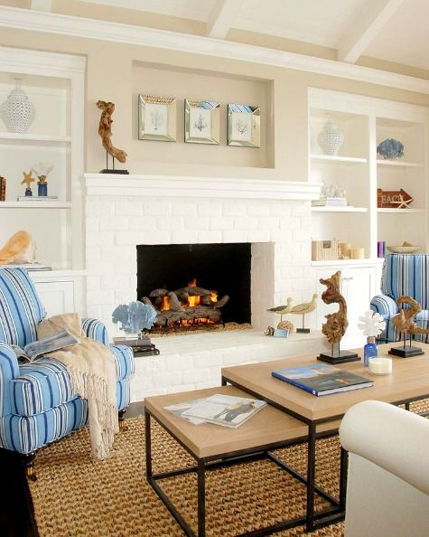 Small Great Room Designs: 12 Small Coastal Living Room Decor Ideas With Great Style