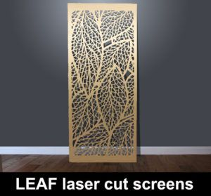 Leaf Laser Cut Metal Screen And Decorative Architectural Panels Screens