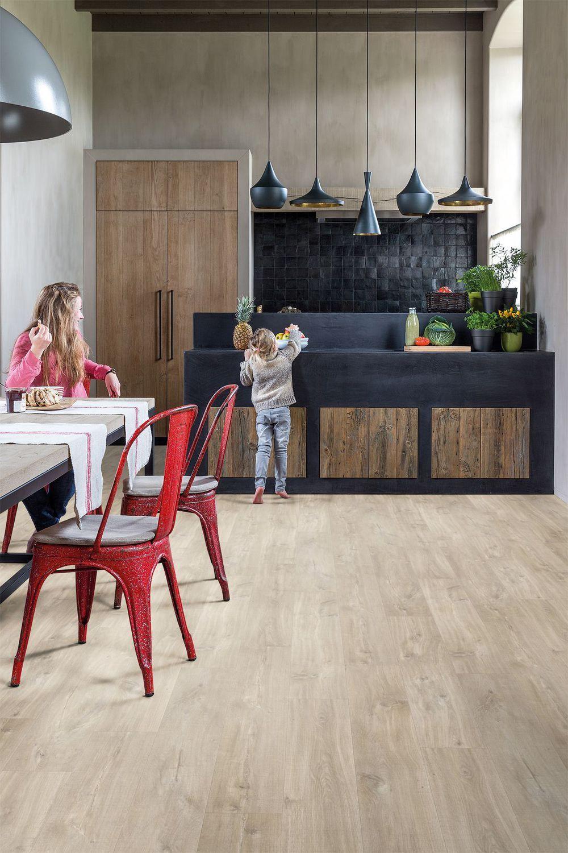 Revêtement sol cuisine : 8 modèles de sols pour une cuisine au