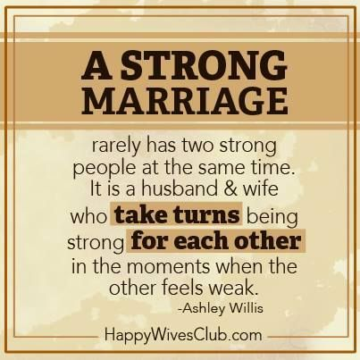 Thankful for an amazing husband. I am blessed. A strong marriage rarely has two strong people at the same time. It is a husband & wife who take turns being strong for each other in the moments when the other feels weak.