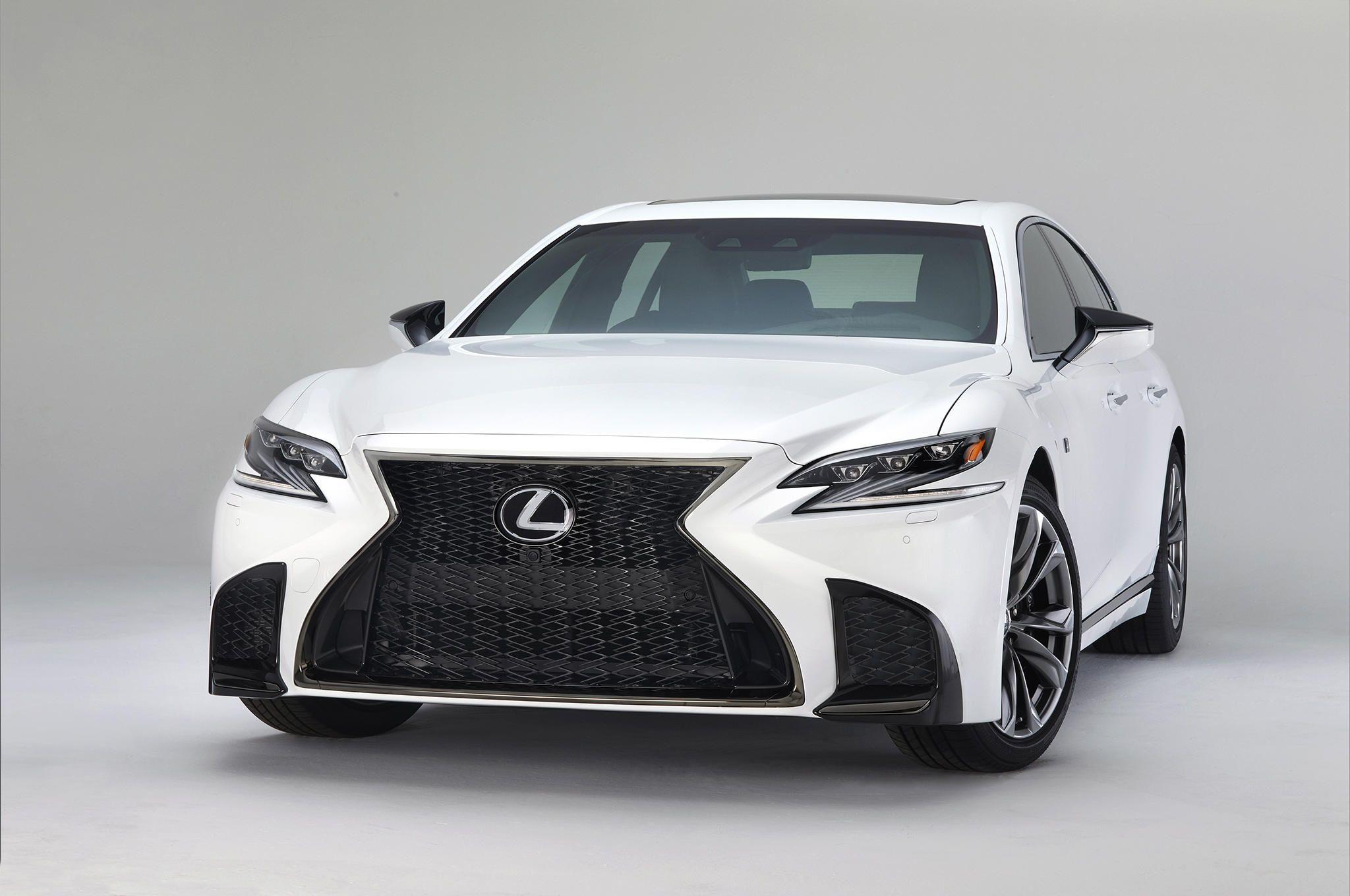Lexus Unveils F Sport Line For Ls 500 Lexus Ls Lexus Luxury Hybrid Cars 2018 lexus ls 500 f sport