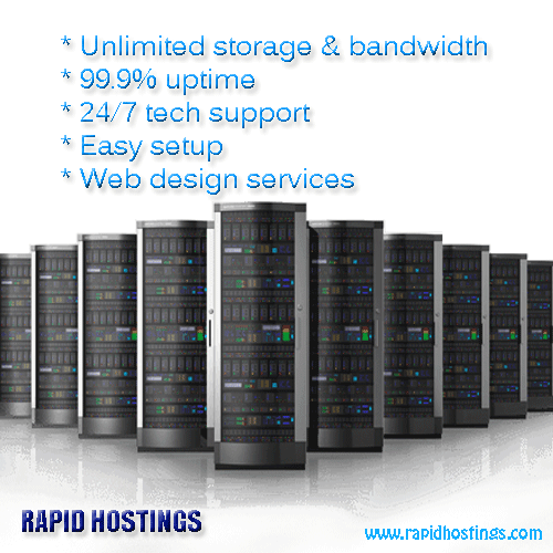 Rapid Hostings Is One Of The Best Web Hosting Provider With Unlimited Bandwidth 99 9 Uptime 24 7 Tech Support Website Hosting Blog Hosting Hosting Services