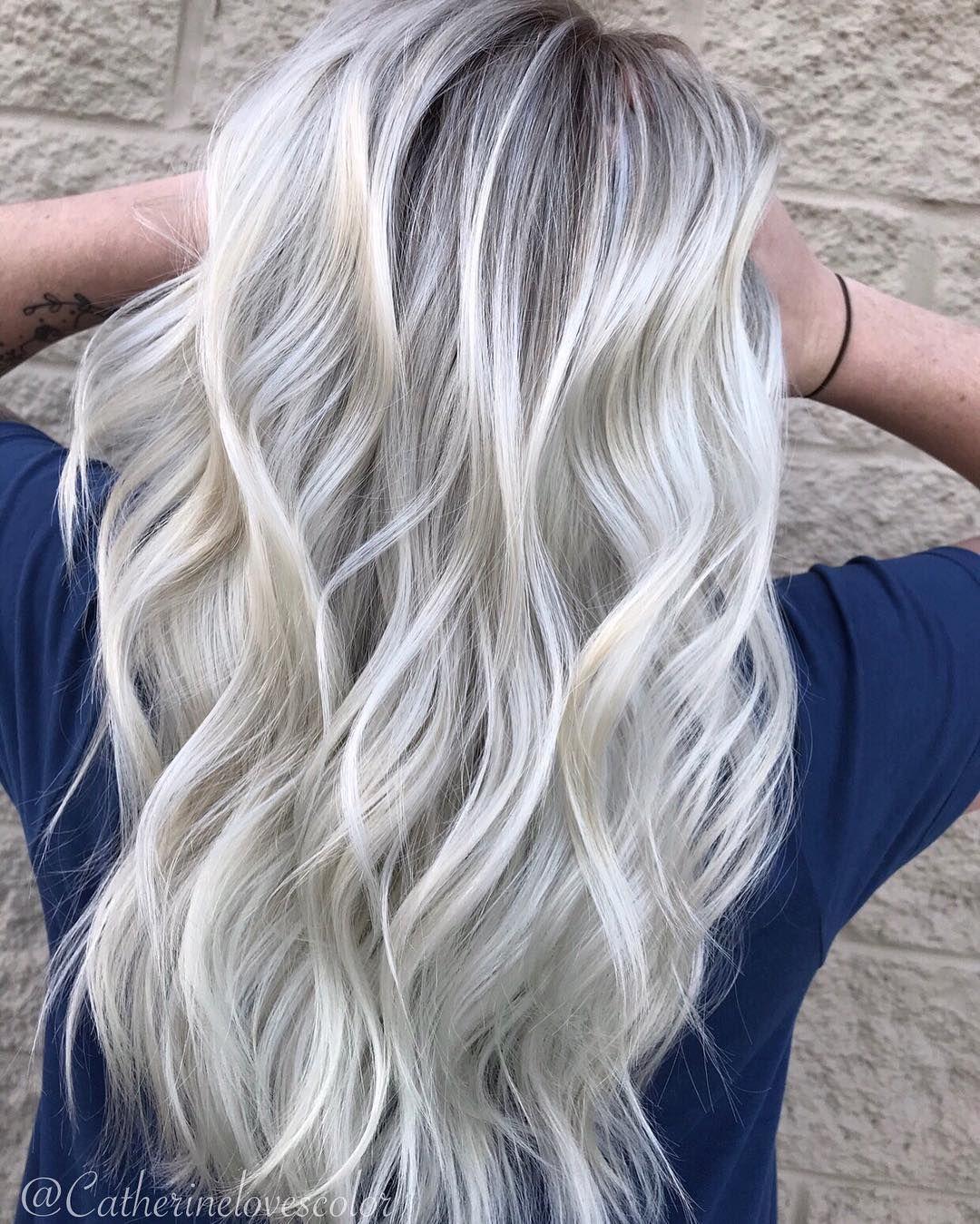 "Michigan•Balayage•Specialist on Instagram: ""L💎O💎V💎E . 🖌@oligopro blacklight cooltone & extra blonde 👼@olaplex  #olaplexeveryservice"""