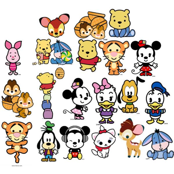 Disney Cuties Disney Character Drawings Baby Disney Characters