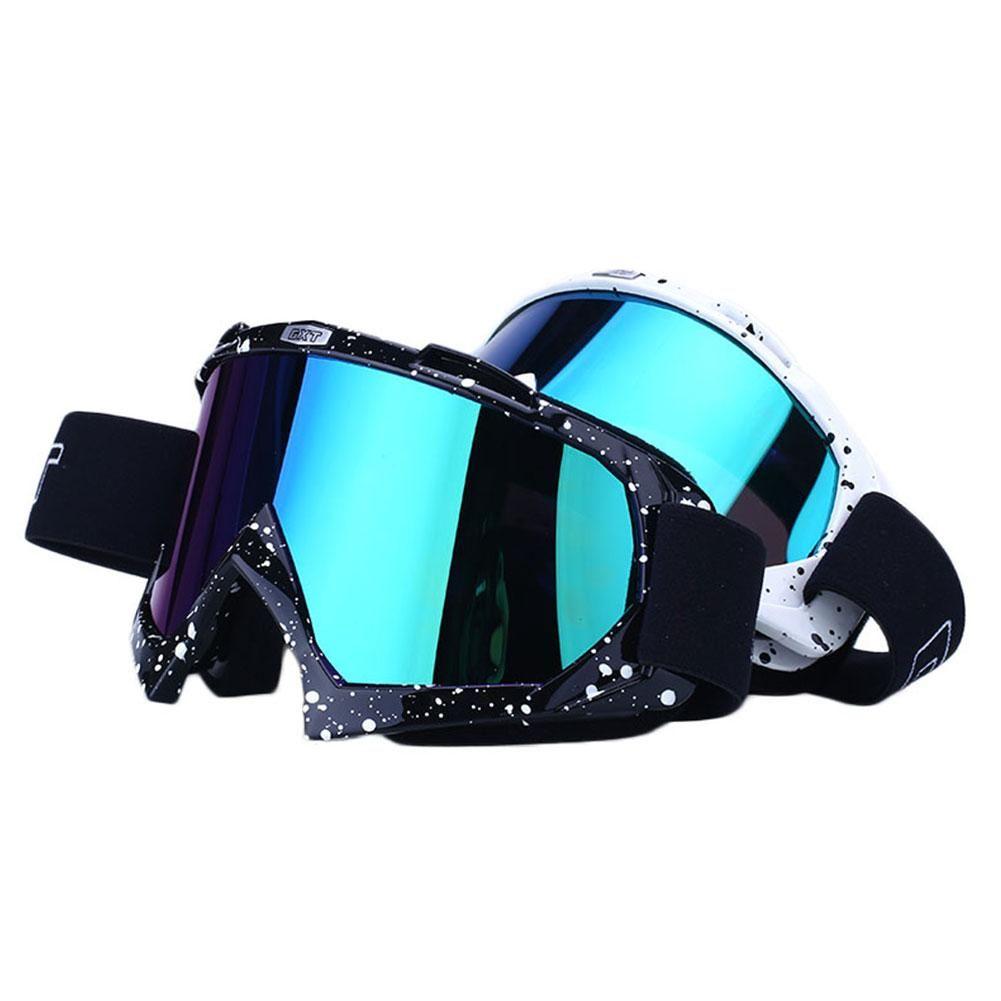 전문 스키 스노우 보드 고글 더블 렌즈 자외선 고글 선글라스