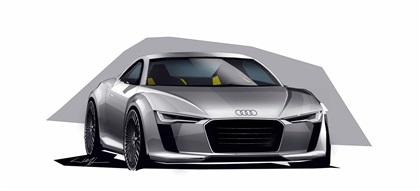 Photo of 2010 Audi Detroit showcar e-tron – Концепты