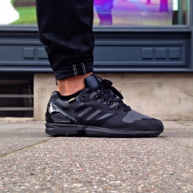 Adidas Zx Flux Black Weave
