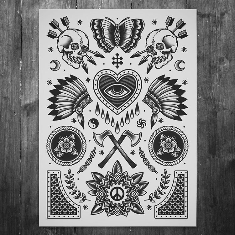 Pinterest Linell Traditional Tattoo Black And White Traditional Tattoo Art Tattoo Flash Art