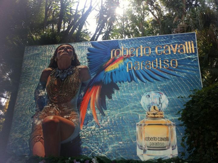 New Cavalli Fragrance in 2015 Fronted by Edita Vilkeviciute