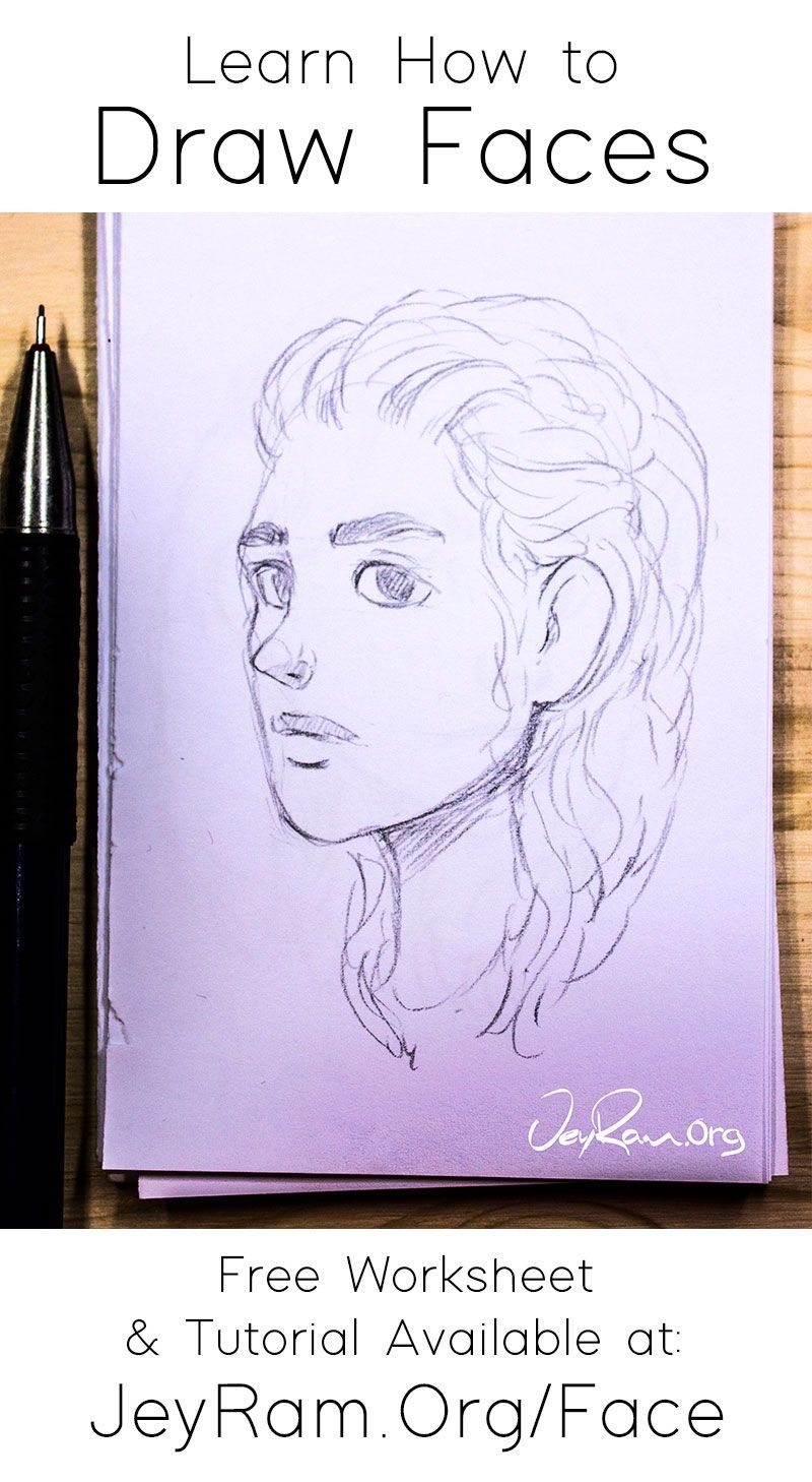 How To Draw Faces In 2020 Face Drawing Drawing Skills Drawings