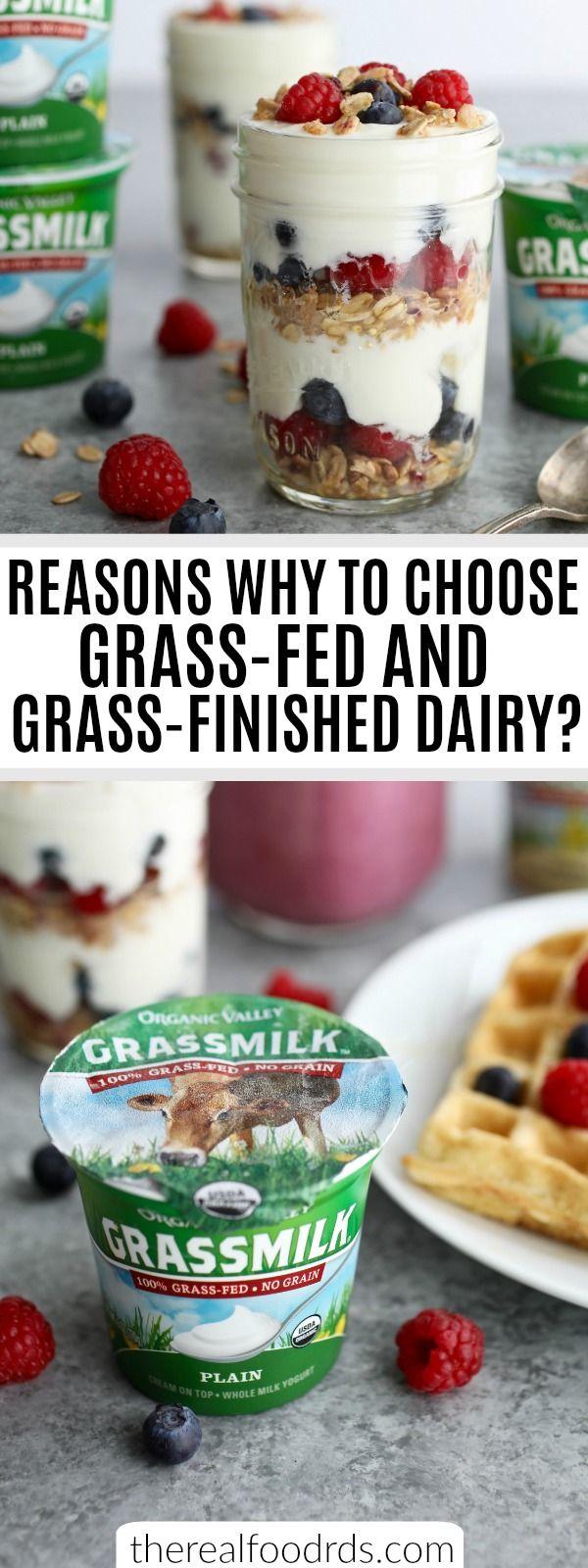 Why Grassfed Dairy? + 5 Ways to use Plain Yogurt