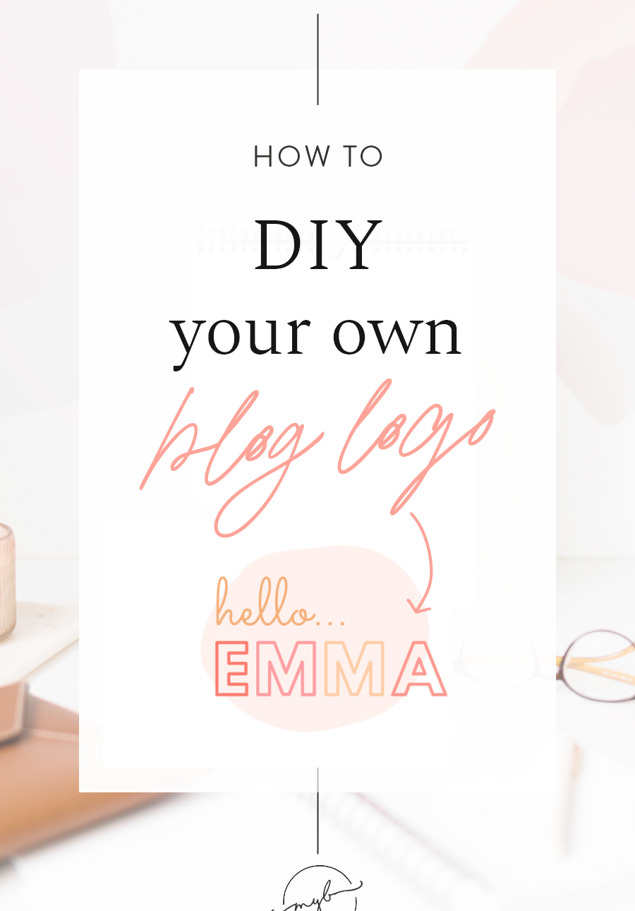 Blog Logo Creator for Canva My Boutique Themes in 2020