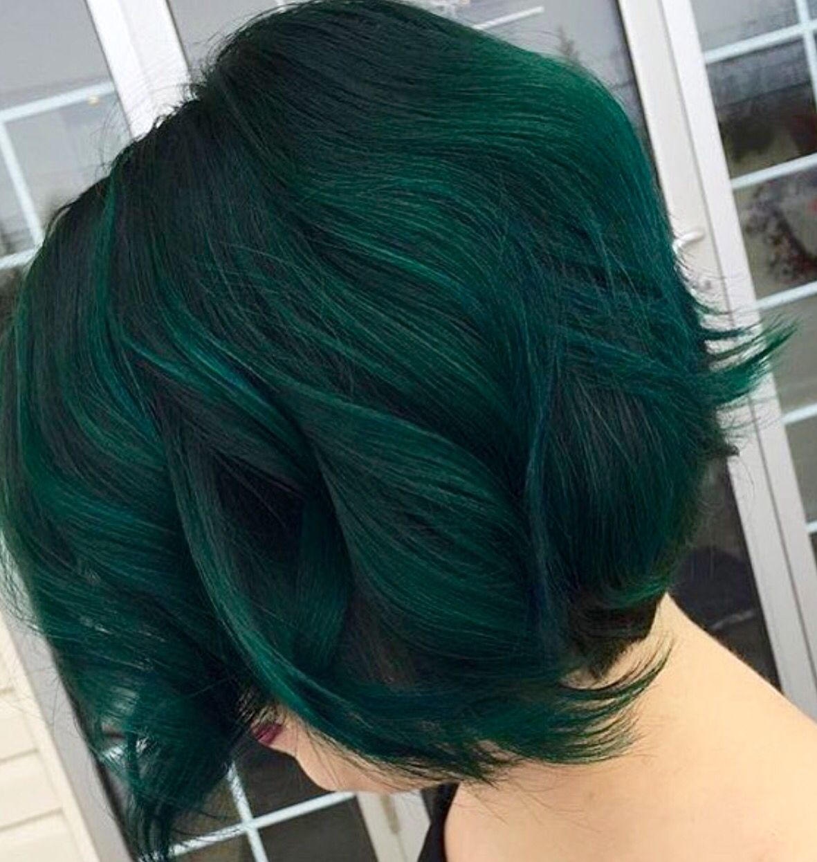 Let Me Be Able To Have Colored Hair Again This Is My Next Vibe Fr Green Hair Dye Dark Green Hair Green Hair