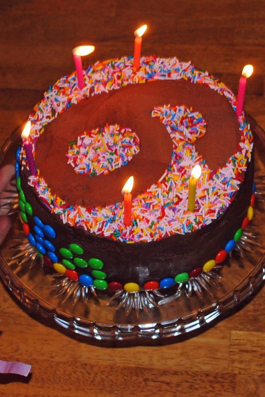 Awesome Sprinkles Cake 6Th Birthday Sprinkle Cake New Birthday Cake Personalised Birthday Cards Veneteletsinfo