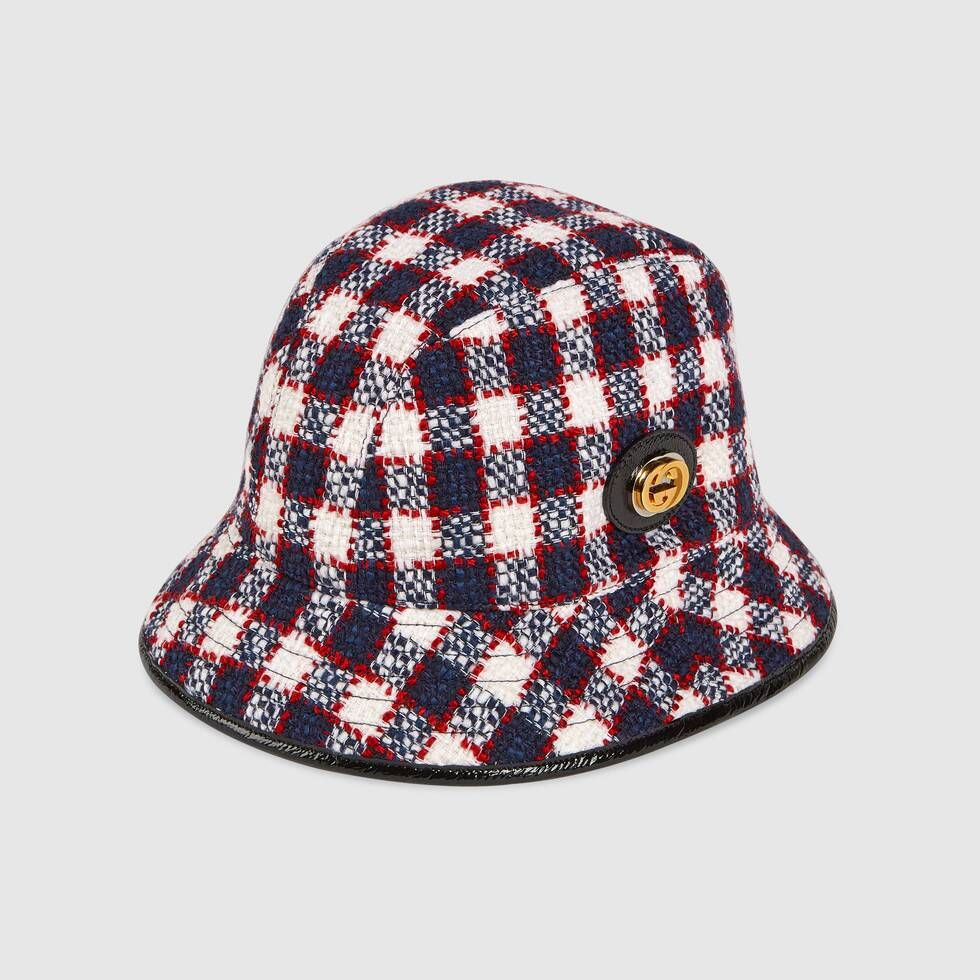 Shop The Tweed Fedora At Gucci Com Enjoy Free Shipping And Complimentary Gift Wrapping Womens Fedora Stylish Hats Gucci