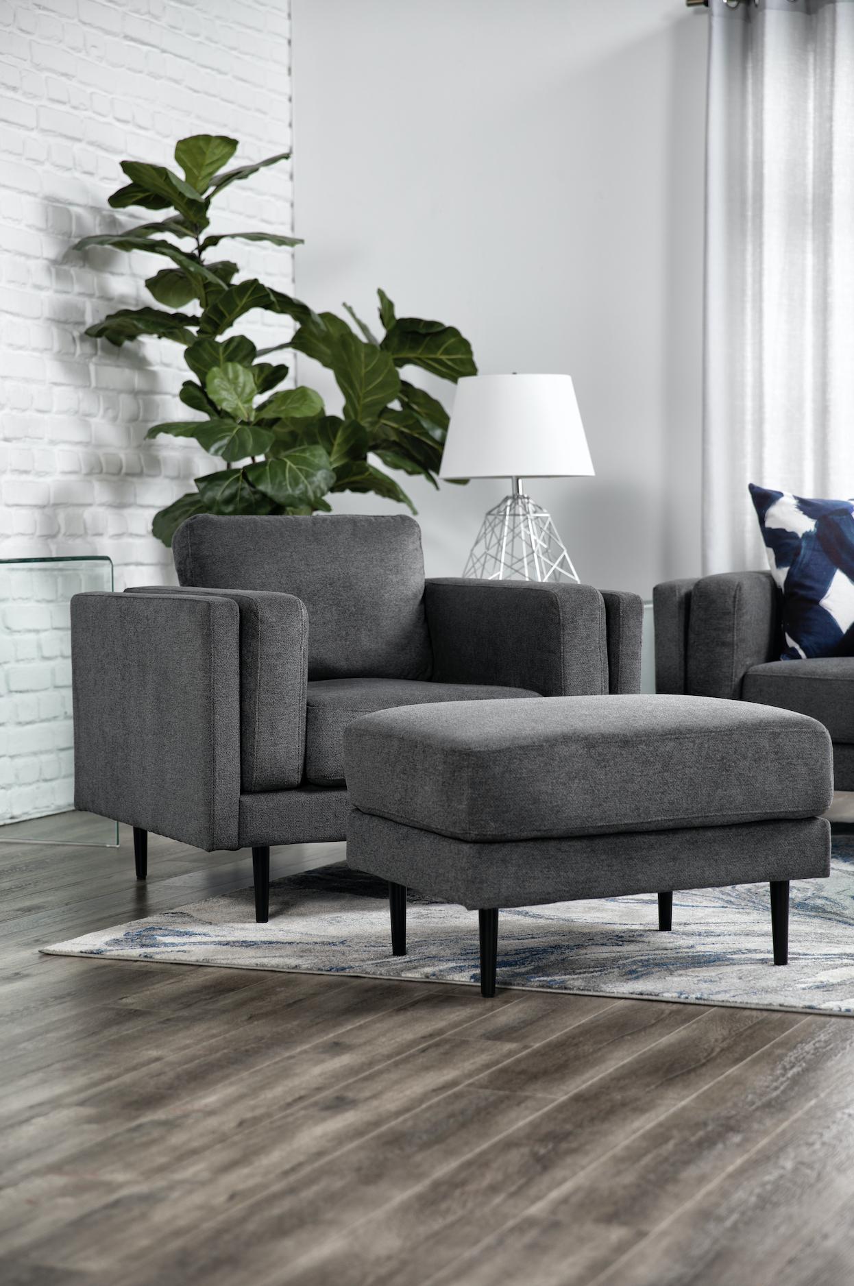 Aaron Charcoal Chair In 2020 Eclectic Living Room Charcoal Chair Colourful Living Room #sleek #modern #living #room