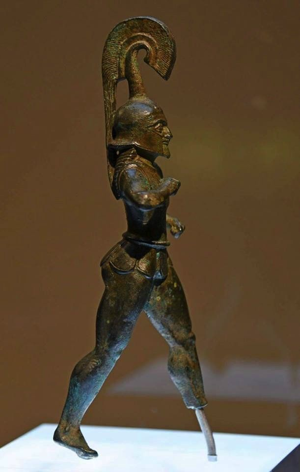 archaic greek hoplite warrior 530 520 bc oracle of dodona epirus