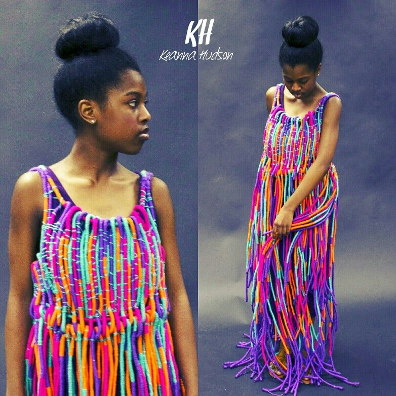 Rope Dress Created By Keanna Hudson This Collection Was Inspired By