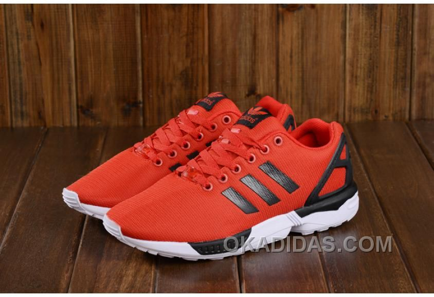 Adidas Zx Flux Running Shoes Red Buy
