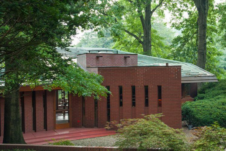 John J Dobkins House 1953 Canton Ohio Usonian Style Frank