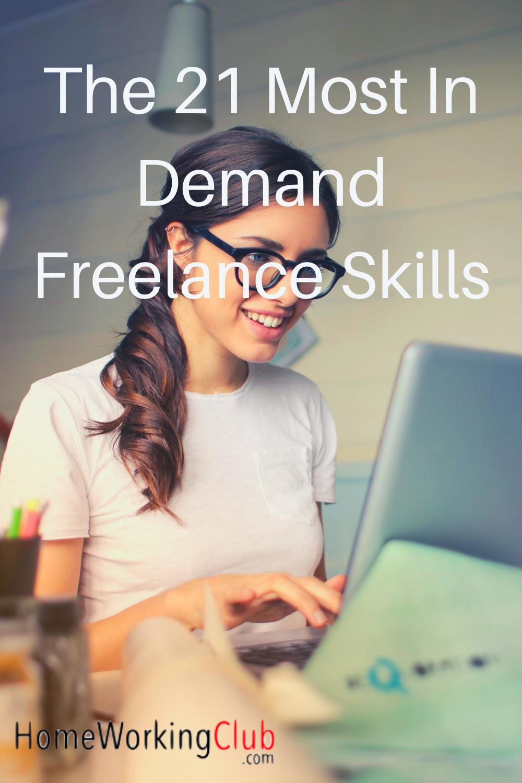 The 21 Best Freelance Skills For 2020 Homeworkingclub Com Web Development Course Skills Freelance