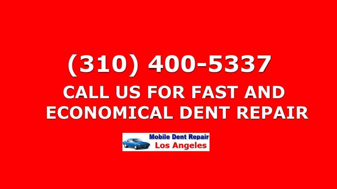 Paintless Dent Repair Beverly Hills (310) 4005337