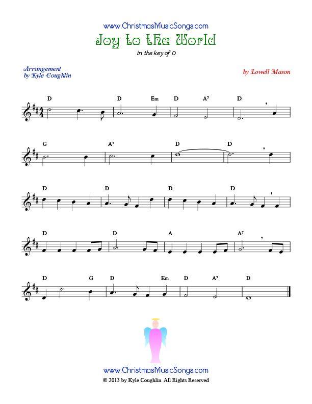 Joy To The World Sheet Music  Music For Savannah
