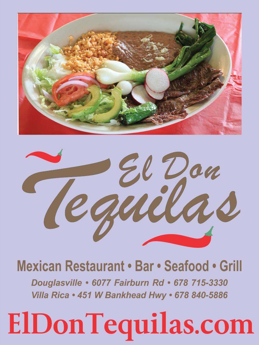 El Don Tequilas Mexican Restaurant Of Douglasville Ga Simply The Best Cuisine West Atlanta