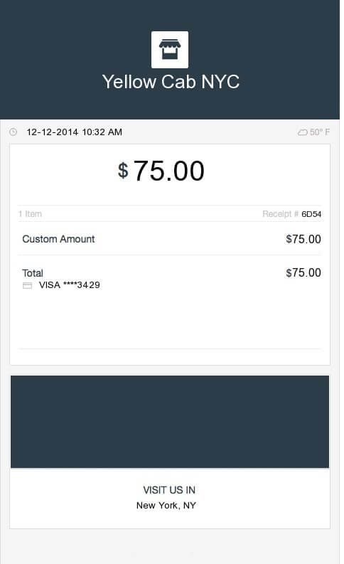 This Is An Example Of A Square Receipt What Is An Invoice And How - What is an invoice