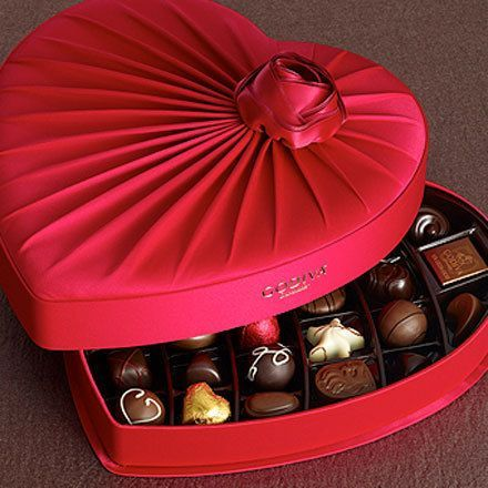 Mademoiselle Rose Valentines Chocolates Box Valentine Chocolate Chocolate Day