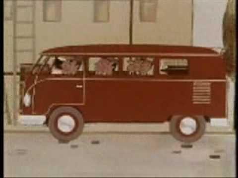 vintage vw bus commercial