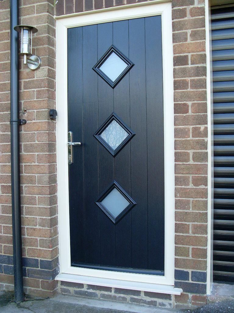 Fenesta upvc doors windows glass flooring - Composite Door In Contemporary Design