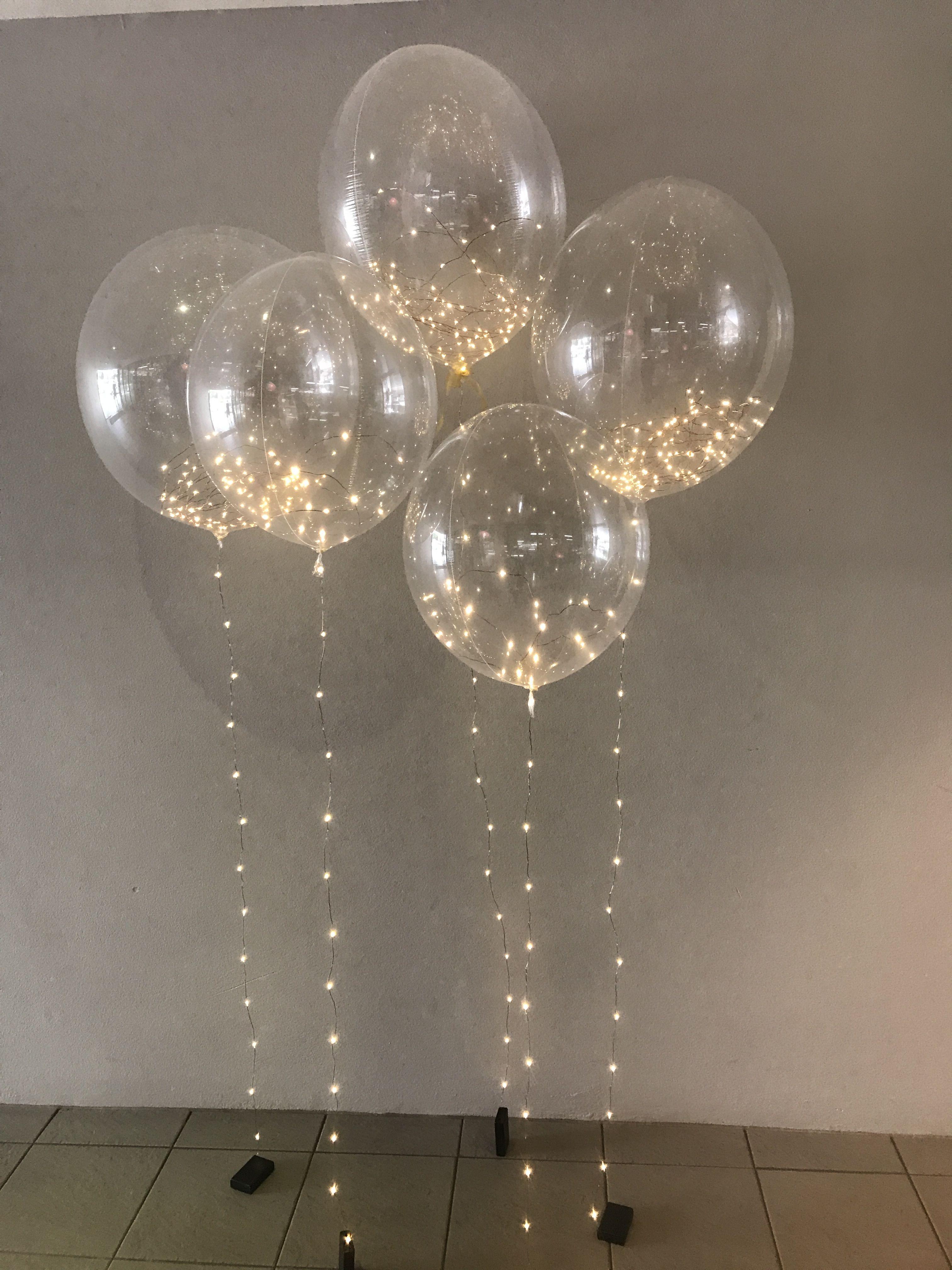 Luftballons fr eine traumhafte Location hochzeit