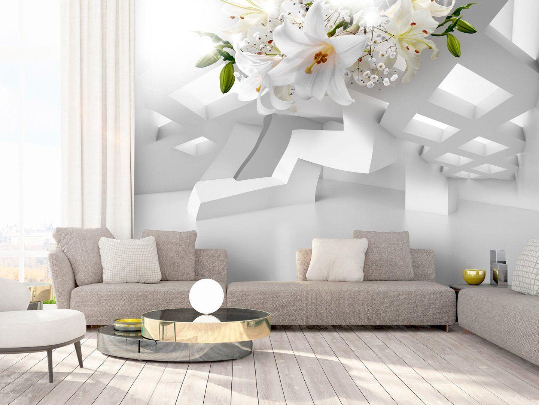Häufig murando - Fototapete Blumen Lilien 350x245 cm - Vlies Tapete EQ39