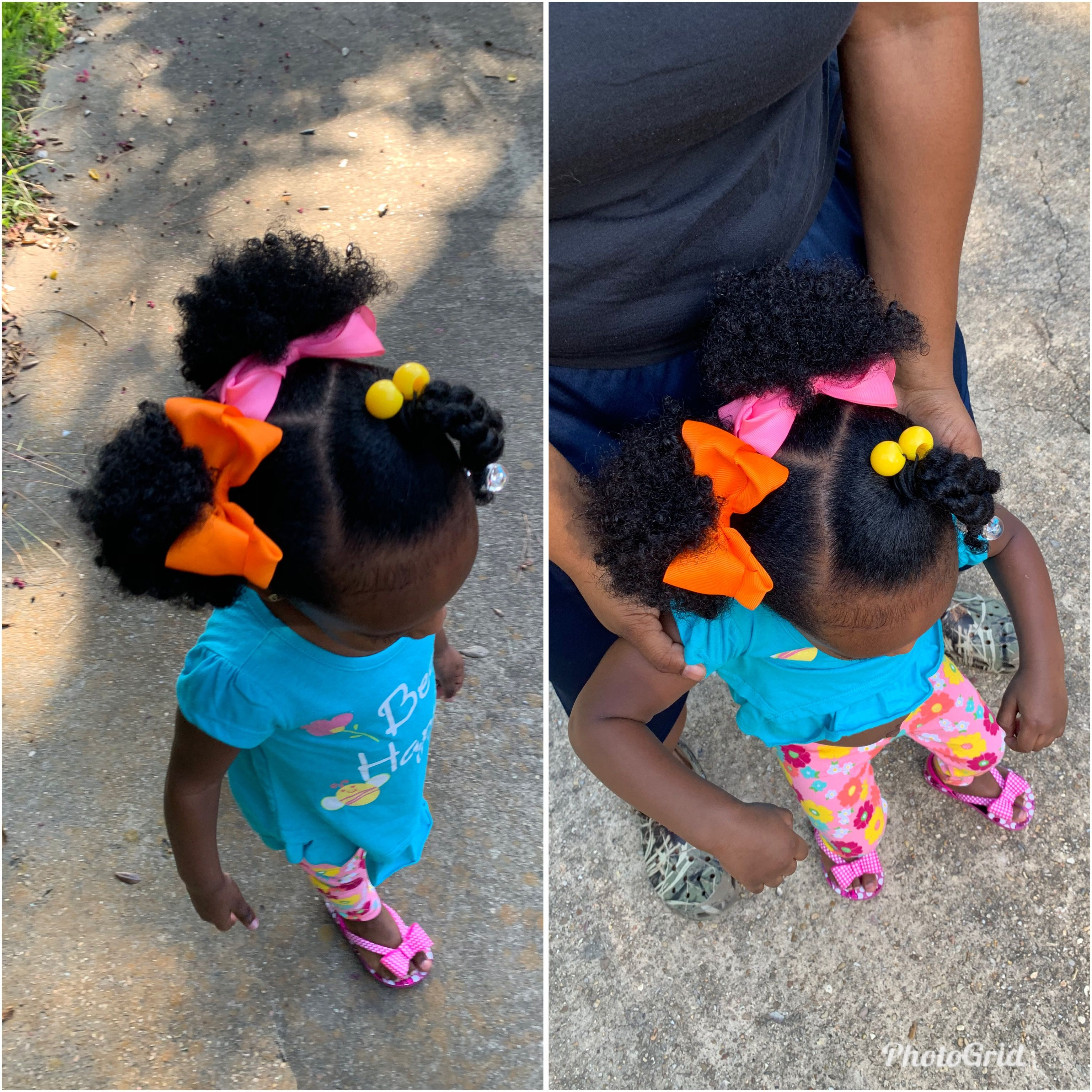 Simple Hairstyles For Black African American Toddlers Baby Girl Hair Black Baby Girl Hairstyles Toddler Hairstyles Girl