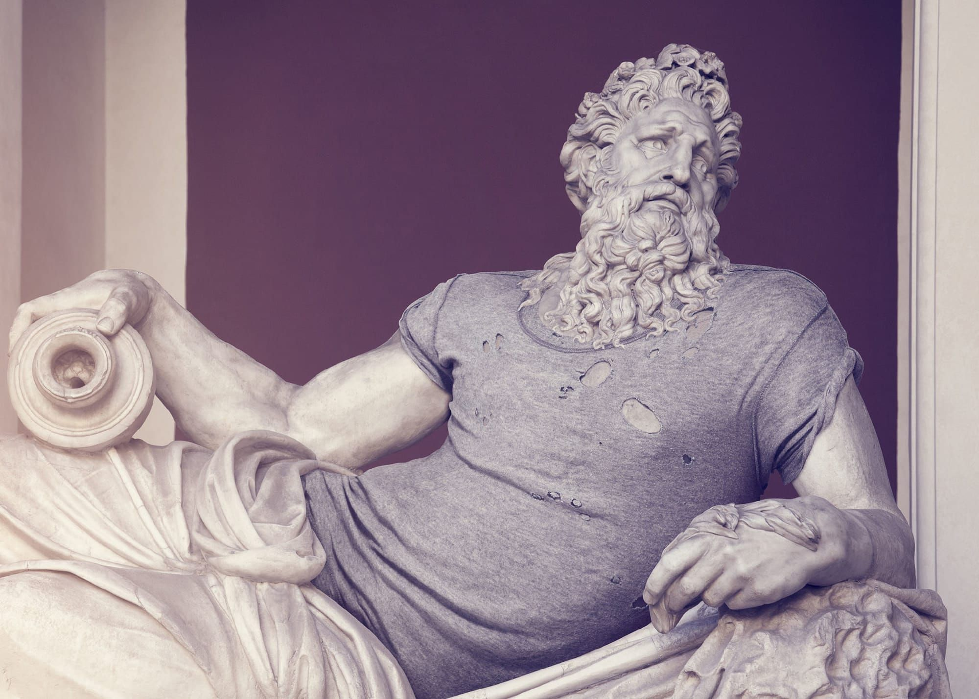 Someone Dressed These Ancient Greek Sculptures To Look Like