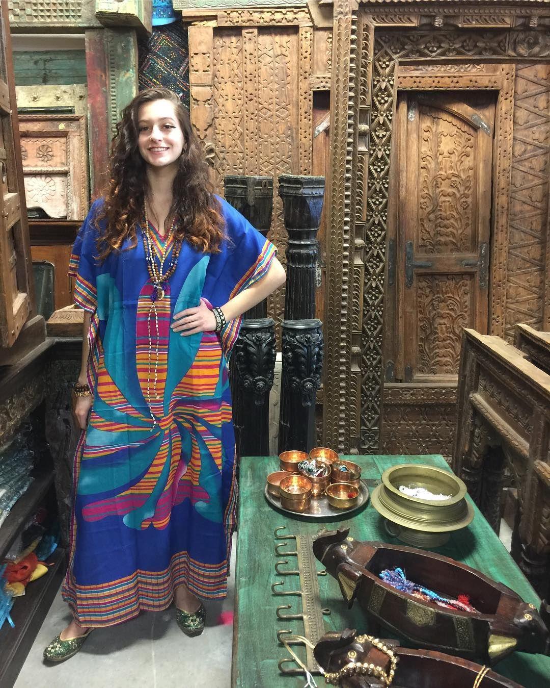 Housedress Maxidresscaftan Ladies Caftan Kaftan Dress Boho Caftan [ 1349 x 1080 Pixel ]
