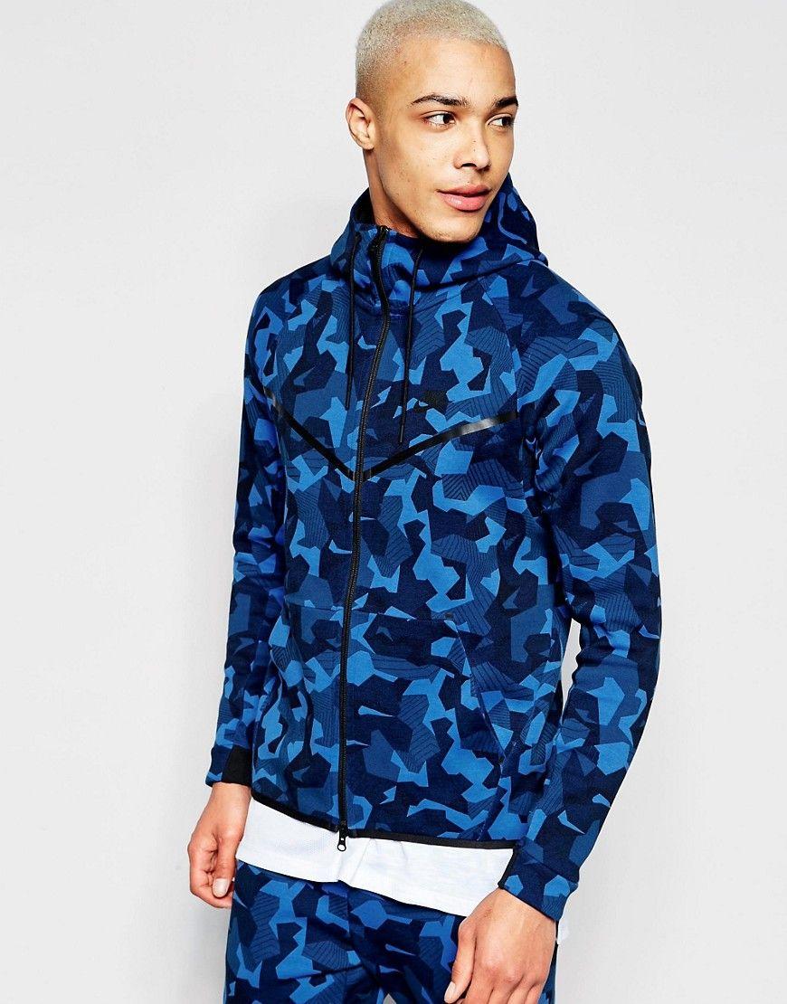 Nike tf windbreaker in blue 835866480 at nike