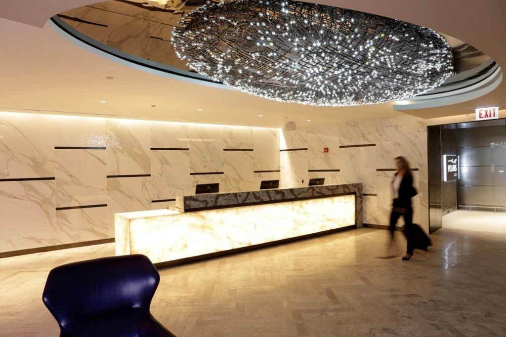 United Sets Opening Date For Lax Polaris Lounge Lounge Business Class Airport Lounge