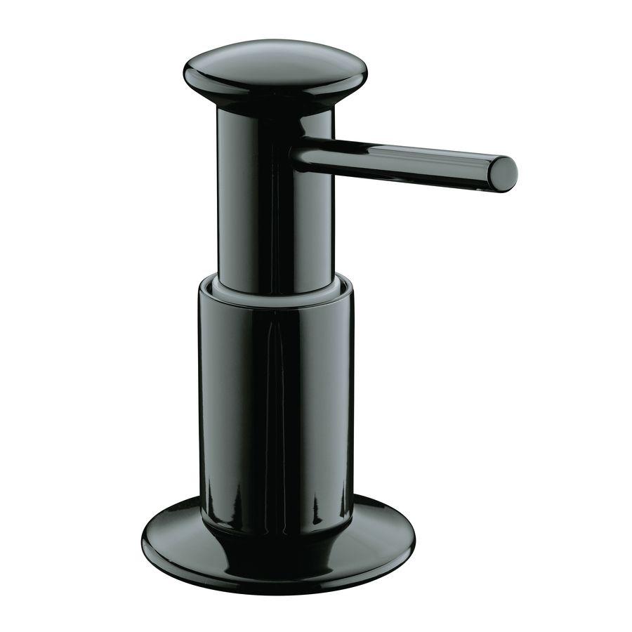 Kohler Black Soap And Lotion Dispenser Lowes Com Lotion Dispenser Soap Lotion Dispensers Soap