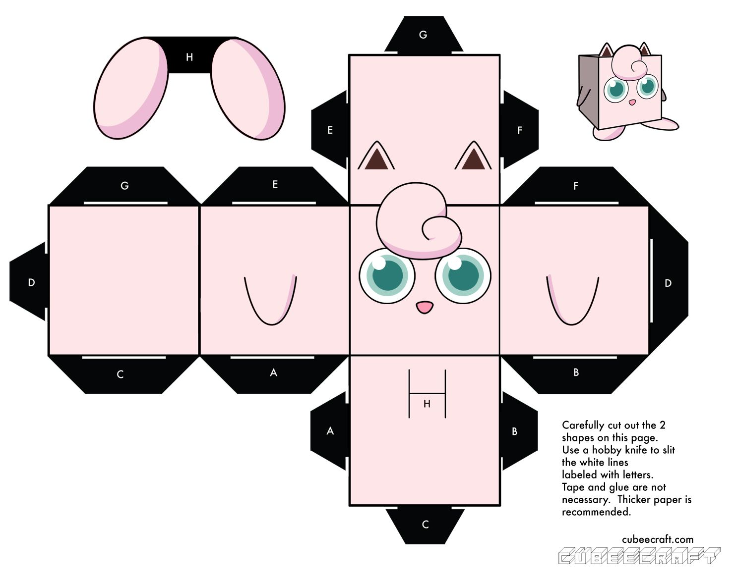 Pokemon coloring pages jigglypuff - Pokemon Coloring Pages Jigglypuff Cubee Activity Sheet Pokemon