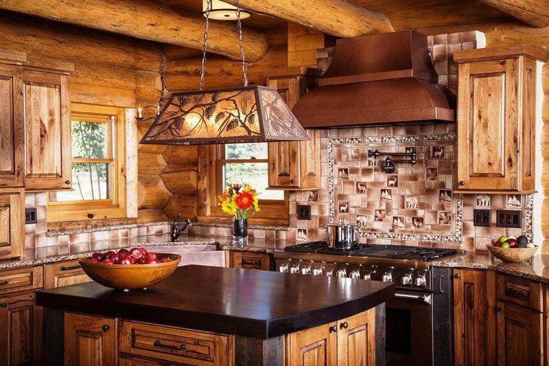 Rustic Interior Design Photos Designer Western Kitchen Modern