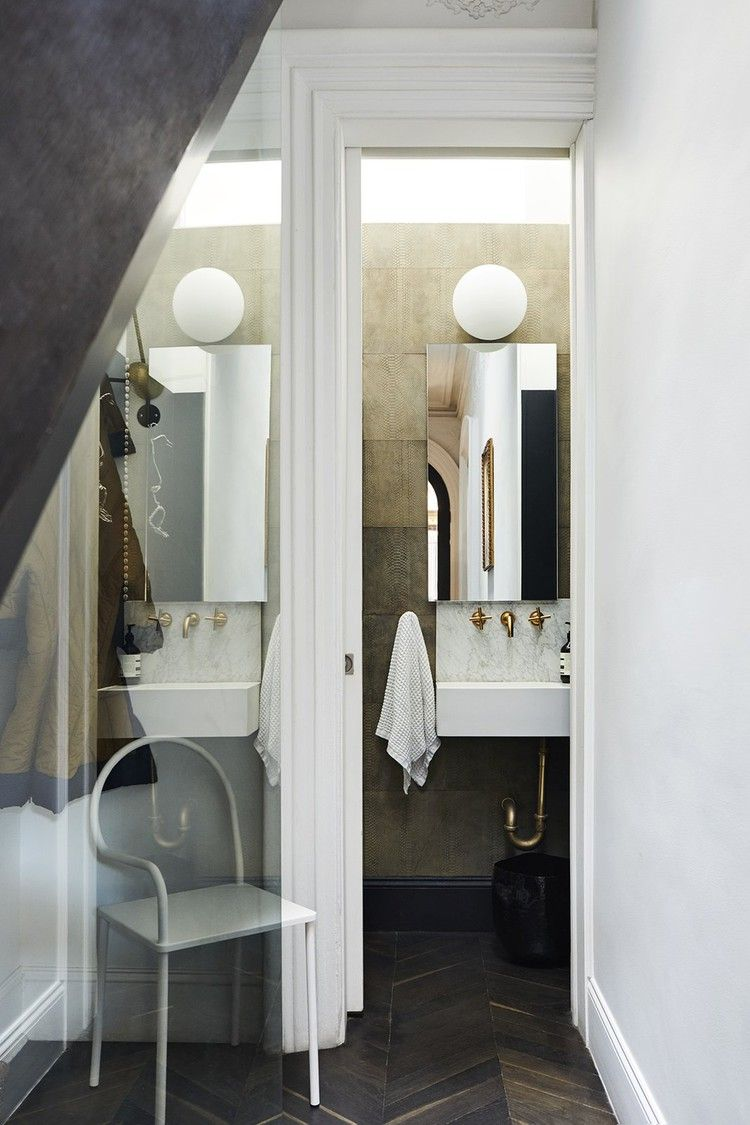Interior Designer Delia Kenza Shares How to Power Up a Powder Room — Dwell #powderroomdesign