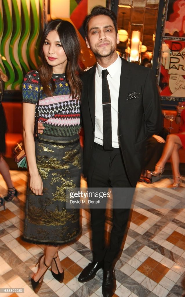 Luke Pasqualino and Gemma Chan at the Instyle EE Rising Star Party - 01/02/2017. Credits: GettyImages.com