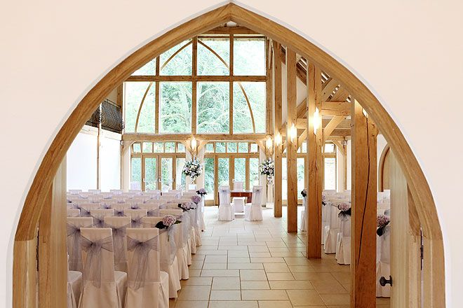 The Ceremony Barn At Rivervale Wedding Venue In Hampshire