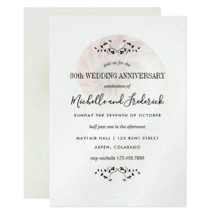 30th Pearl Wedding Anniversary Nautilus Shell Card Wedding