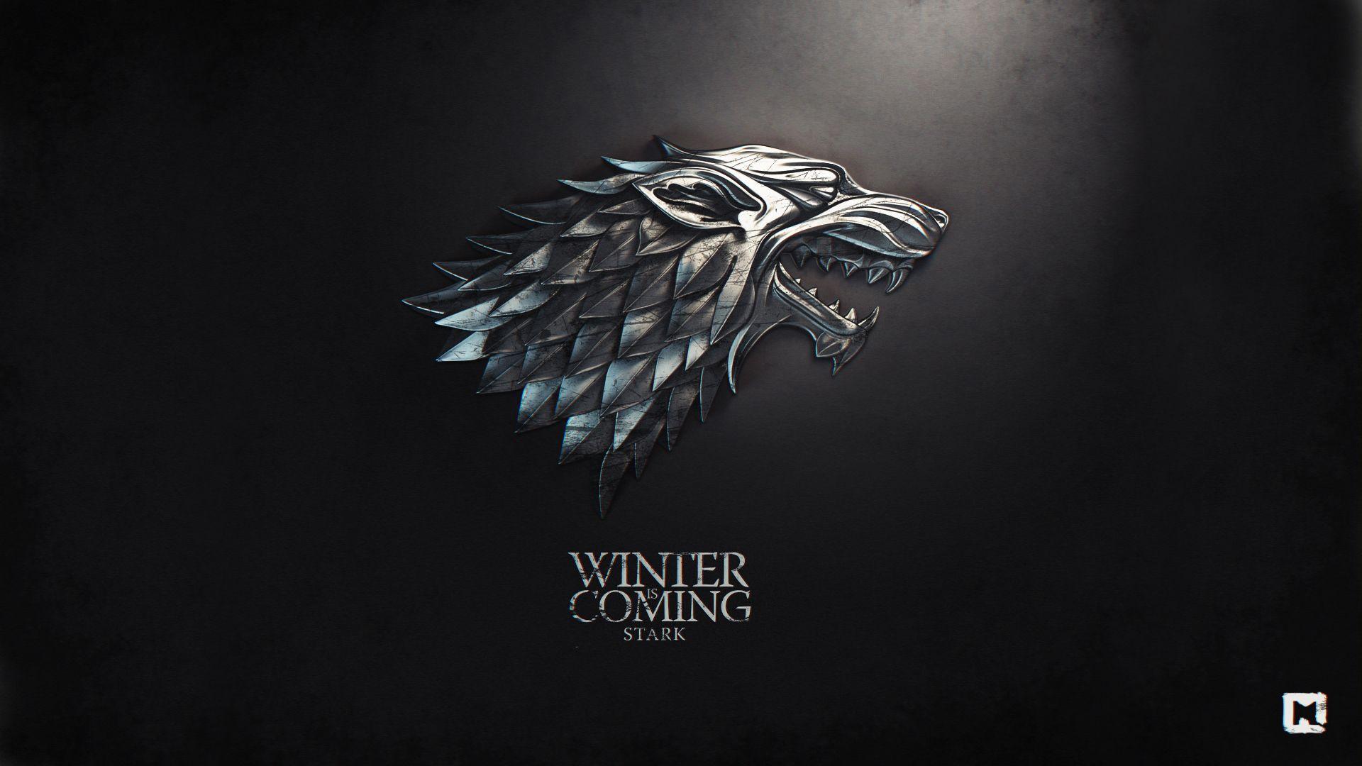 Games Of Thrones Stark Wallpaper 1920x1080 In 2019