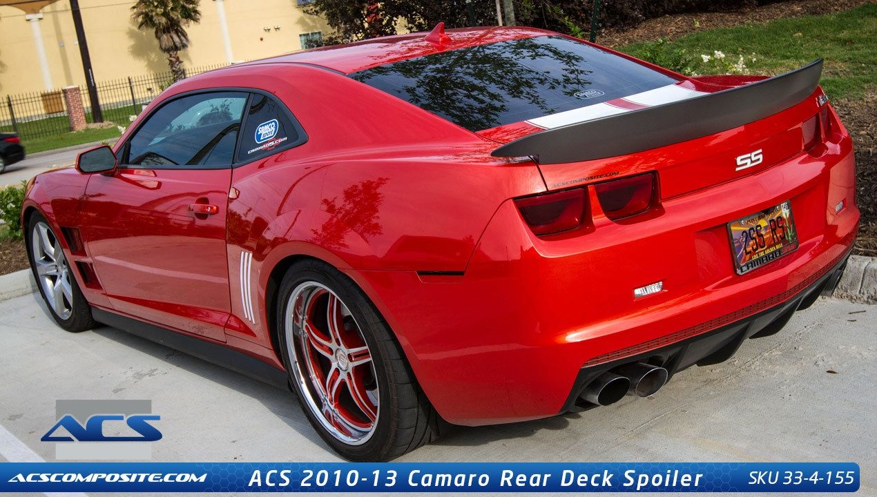 2010 2013 Camaro Z28 Inspired Rear Spoiler By Acs 2013 Camaro Camaro Accessories Camaro Z