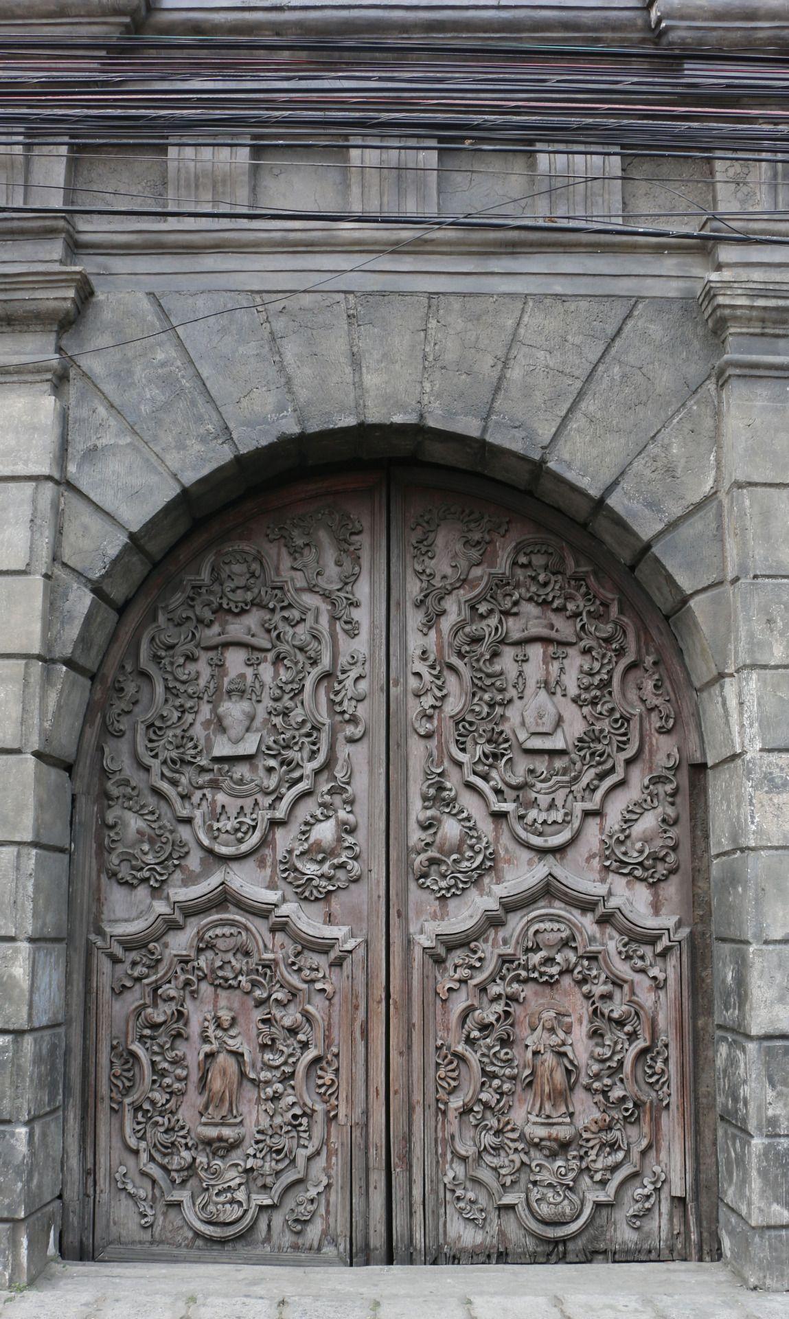 DoorsSan Agustin Church, Manila